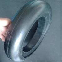 Buy cheap High Abrasion Rubber Wheels Solid Rubber Tire Custom Rubber Parts Toy Solid Tyre from wholesalers