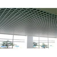 Buy cheap Na-View Powder Coating Open Cell Ceiling Square Shape For Airports from wholesalers