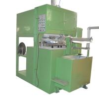 Buy cheap Custom Color Semi Automatic Egg Tray Machine With PLC Control Easy Operation from wholesalers