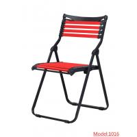 Buy cheap Factory direct supply cheap metal frame beach chair folding chair outdoor foldable chair f from wholesalers