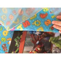 Buy cheap Soft PVC 3D Printable Lenticular Sheet Fabric Custom flip effect Lenticular T-shirt Clothing sale and export Pakistan from wholesalers