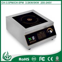 Buy cheap 2015 Pratical commercial induction hob for kitchen use with 3.5kw from wholesalers