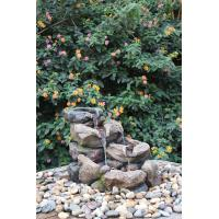 Natural Rock Water Fountains For Home Decoration , Weather Resistant