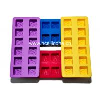 Buy cheap 100% Silicone Ice Cube Tray with FDA/LFGB standard from wholesalers