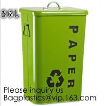 Buy cheap Household Metal Tin Garbage /Dust Bin,Metal Dog Pet Food Storage Bin Tin/Galvanized Trash Can/Garbage Bin,Store Supplies from wholesalers
