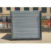 Buy cheap Height 2.1m x  Width 3.3m temporary construction fence for sale Hot dipped galvanized  Q235 steel temp fence panels from wholesalers