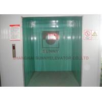 Buy cheap Durable Industrial Elevator Lift Sunny Elevator 1168x1600mm Car Size from wholesalers