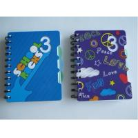 Buy cheap A6 hardcover  spiral notebook for back to school from wholesalers