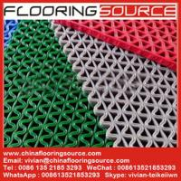 Buy cheap PVC S Mesh Floor Mat Vinyl Z Web anti-slip Floor Mat scarpe dirt and drain water from wholesalers