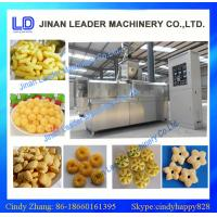 Buy cheap automatic twin screw expanded snack food process line /  corn puffed snacks food from Wholesalers