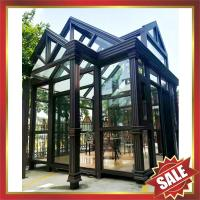 Buy cheap Prefabricated glass house,sun room,sun house,aluminium structure house,super durable! from wholesalers
