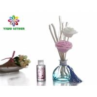 Buy cheap 50ml Elegant Home Aromatherapy Non-Fire Reed Diffuser Alcohol Free with Sola Flower Willow Stick Reed Diffuser Gift Set from wholesalers