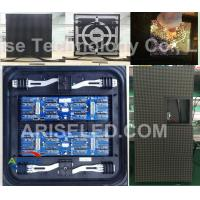 Buy cheap P10 full color outdoor led display cabinet advertising front/rear service/front maintenanc product