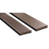 Buy cheap Wood Plastic Composite WPC Composite Decking Customised Length igh Strength from wholesalers
