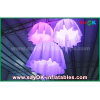 Buy cheap 1m - 2m DIA Color Change Nylon Material Inflatable Jellyfish With CE / UL Blower from wholesalers