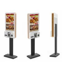 Buy cheap Restaurant Fast Food Self Ordering Kiosk System , Interactive Touch Screen Kiosk 27 Inch from wholesalers