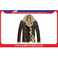 Buy cheap Surper-Thick Warm Leather Mens Outdoor Jackets Winter Mens Overcoats from wholesalers