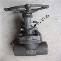 Buy cheap high pressure Bolted bonnet bellows seal globe valves forged steel gate valve from wholesalers
