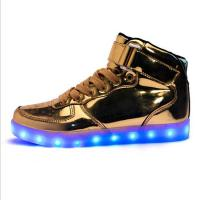 Buy cheap Young Fashional Rechargeable LED Sneakers With Light Safe Built - In Lithium Batteries from wholesalers