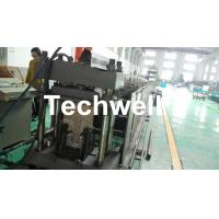 Buy cheap GI , Carbon Steel Top Hat Purlin Roll Forming Machine , Furring Channel Roll Former With 18 Roll Stands from wholesalers