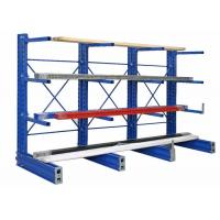 Buy cheap Warehouse Cantilever Racking System Heavy Duty Industrial Cantilever Racks from wholesalers