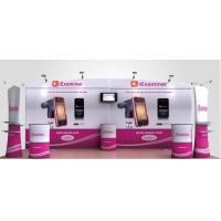 Buy cheap High Definition Printing Tension Fabric Banner , Fabric Exhibition Stand from wholesalers