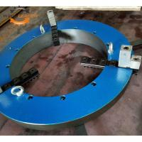 Buy cheap ISO 3 Jaw Type Self Centering Welding Positioner Chuck High Performance product