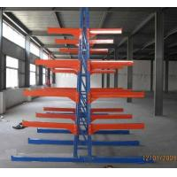 Buy cheap Industural light duty racking system , Long span cantilever lumber racks from wholesalers