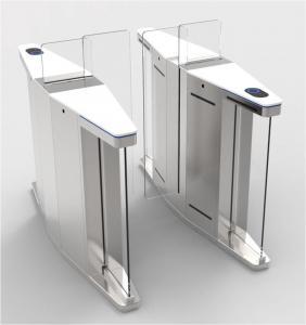 Buy cheap Elegant Optical Pedestrian Turnstile Barrier Gate High Speed SUS304 Material product