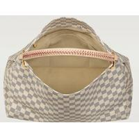 Buy cheap Authentic LV Louis Vuitton Artsy-big-DAMIER-AZUR-N41173 white shoulder women bag from wholesalers