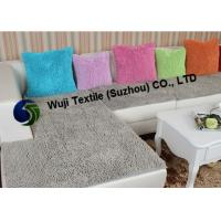 Buy cheap Red Large Chenille Cushion Covers , Household Cushion 80% Polyester & 20% Polyamide from wholesalers
