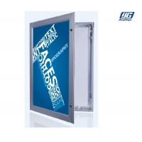 Buy cheap Hinged Lockable LED Light Box Aluminum Frame Silver / Black Max 2000x1000mm from wholesalers