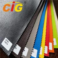 Buy cheap PVC Synthetic Leather Fabric / Synthetic Leather Cloth For Car Decorative product