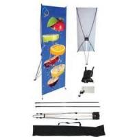 Buy cheap High resolution digital printing 1440 Dpi Matte Lamination vinyl exhibition Banner Display Stand  from wholesalers
