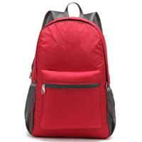Buy cheap Custom Stylish Economic  Outdoor Sports Backpack Red for Outdoor Travel from wholesalers