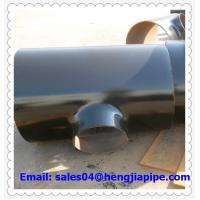 Buy cheap A234 WPB reducing tee ASTM B16.9 from wholesalers