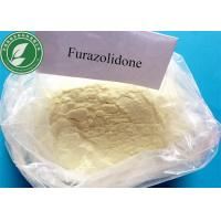 Buy cheap Furazolidone Pharmaceutical Raw Materials for Antimicrobial , CAS 67-45-8 from wholesalers