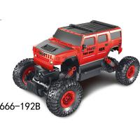 Buy cheap Hot Selling Electric RC toy car 2.4Ghz wireless remote control 1:16 high-speed off-road climbing car toy 666-192B from wholesalers