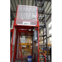 Buy cheap Construction Material Man Material Hoist / Lifting Hoist Equipment With Single And Double Cage product