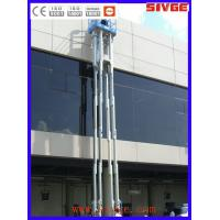 Buy cheap Multi Mast Type Vertical Mast Lift 16m Platform Height With 160 kg Load from wholesalers