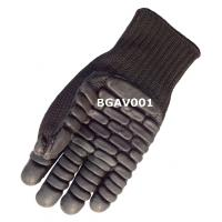 Buy cheap Black Foam Latex Rubber Palm Impact Resistant And Anti-Vibration Gloves. from wholesalers
