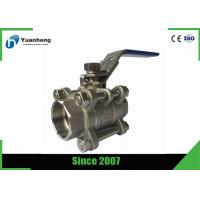 Buy cheap Stainless steel full bore ball valves , 3PC Socket Welded ball valve from wholesalers