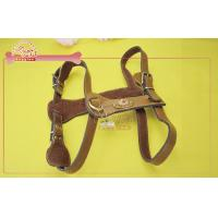 Buy cheap Flexible Head Layer Cowhide Leather Dog Harness Large Neck 15- 20 Girth 21- 26 from wholesalers