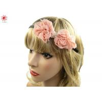 Buy cheap Unique Bridal Bow Hair Bands For Wedding , Flower Hairband Hair Accessories from wholesalers