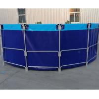 Buy cheap Waterproof And Fireproof PVC Fish Pond With Laminated PVC Pool Liner from wholesalers
