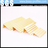 Buy cheap Rustproof Copper Extruding Stair Nosing Strip Brass Stair Nosing from wholesalers