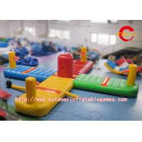 Buy cheap Interactive Inflatable Carnival Games / Backyard Inflatable Laser Tag Arena from wholesalers
