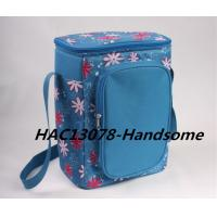 Buy cheap Flower polyester cooler bag from Xiamen-HAC13078 product