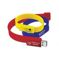 Buy cheap 32gb USB 2.0 USB Flash Drive Wristband Logo Customized for Business Gift from wholesalers