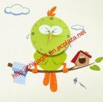 Buy cheap DIY Bird Wallpaper Wall Clock from wholesalers